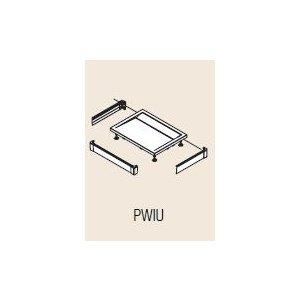 SanSwiss ILA PWIU Hliníkový predný panel pre vaničku (obdĺžnikovú alebo štvorcovú) rôzne rozmery a prevedenia