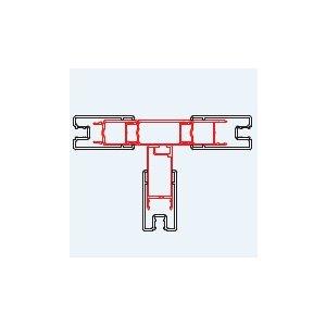 SanSwiss TOP line TEO Sada 4 profilov ku spojeniu dverí a bočných stien u T-montáže rôzne rozmery a prevedenia