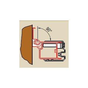 SanSwiss SWING line WGSL1 Profil k upevneniu dverí na strane držadla alebo bočnej steny ku stene kúpeľne v uhle 0° až 90° rôzne prevedenia