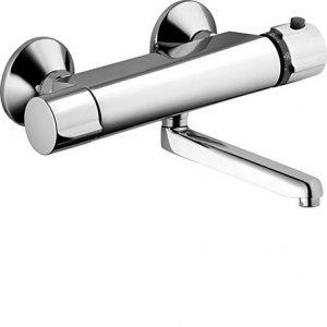 HANSA PRISMA Nástenná batéria s termostatom pre umývadlo / drez, DN 15 (G 1 / 2) rôzne varianty