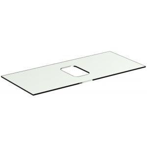 IDEAL Standard Tonic II Vrchná sklenená doska pre symetrické umývadlo Biela