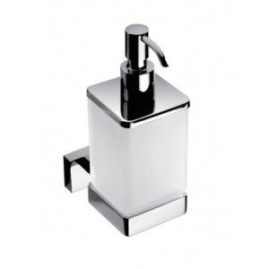 Bemeta PLAZA Dávkovač tekutého mydla 60x155x90 mm, 200 ml, chróm 118209049