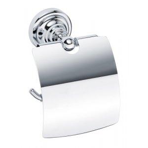 Bemeta RETRO Držiak toaletného papiera s krytom 140x150x100 mm, rôzne farby