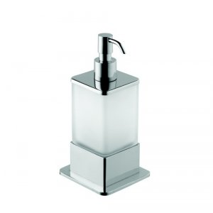 Bemeta PLAZA Dávkovač tekutého mydla 85x170x75 mm, 200 ml, chróm 140109161