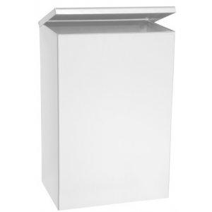 Bemeta Hranatý odpadkový kôš závesný, hygienický 205x305x105 mm, nerez, 6 l, rôzne prevedenia