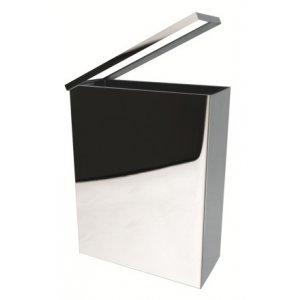 Bemeta Hranatý odpadkový kôš nerez 370x460x165 mm, 25 l, rôzne prevedenia
