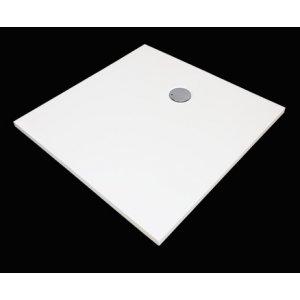 Aquatek FUSION Nízka vanička z liateho mramoru, štvorcová štvorcová 90 FUSION90SQ