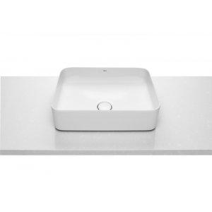 ROCA Inspira Umývadlová misa na dosku biela, rôzne tvary, 370 x 500 x 140 mm