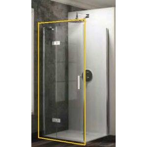 Huppe Solva pure Krídlové dvere s pevným segmentom pre bočnú stenu  rôzne prevedenia