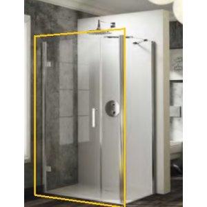 Huppe Solva pure Krídlové dvere s protisegmentom pre bočnú stenu  rôzne prevedenia