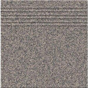 Paradyz Texas 30x30 cm šedá matný Q300X3001TEXASP Schodisková dlažba