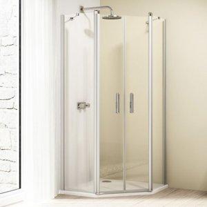 Huppe Design elegance 2-krídlové dvere s pevnými segmentami rôzne typy