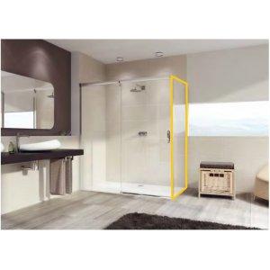 Huppe Aura elegance Bočná stena pre posuvné dvere 1-dielne s pevným segmentom rôzne typy