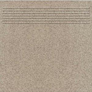 Paradyz Arkansas 30x30 cm šedá matný Q300X3001ARKSSP Schodisková dlažba