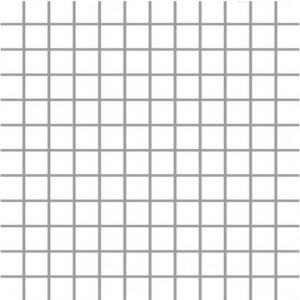 Paradyz Albir 29,8x29,8 cm bianco MP298X2981ALBIBI Mozaika A