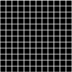 Paradyz Albir 29,8x29,8 cm nero MP298X2981ALBINE Mozaika A