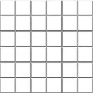 Paradyz Altea 29,8x29,8 cm bianco lesklý MP298X2981ALTEBI44 Mozaika C