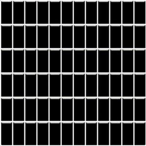 Paradyz Altea 29,8x29,8 cm nero lesklý MP298X2981ALTENE24 Mozaika B