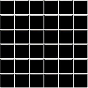 Paradyz Altea 29,8x29,8 cm nero lesklý MP298X2981ALTENE44 Mozaika C