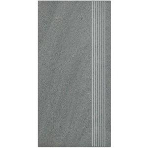 Paradyz Arkesia 29,8x59,8 cm grigio matný QR298X5981ARKEGGSP Schodisková dlažba
