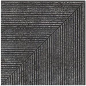 Paradyz Bazalto 30x30 cm grafit matný Z300X3001BAZAGTSN Schodisková dlažba rohová