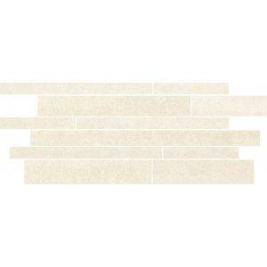 Paradyz Doblo 20x52 cm bianco matný L200X5201DOBLBIPAMX Lišta Pásiky