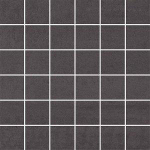 Paradyz Doblo 29,8x29,8 cm nero matný MC298X2981DOBLNE Mozaika