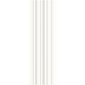 Paradyz Abrila 20x60 cm bianco lesklý I200X6001ABRIAPA Obklad INSERTO Pásiky A