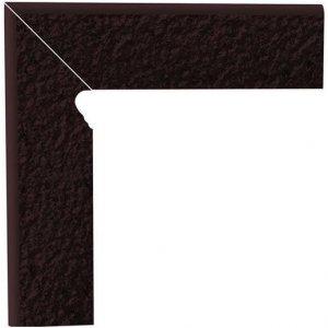 Paradyz Natural 8x30 cm hnedá matný Z080X3001NATUBRLE Sokel dvojelementový ľavý DURO