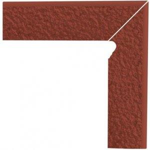 Paradyz Natural 8x30 cm rosa matný Z080X3001NATUROPR Sokel dvojelementový pravý DURO