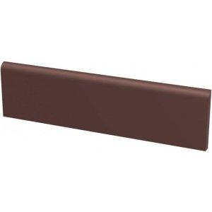 Paradyz Natural 8,1x30 cm hnedá matný Z081X3001NATUBR Sokel