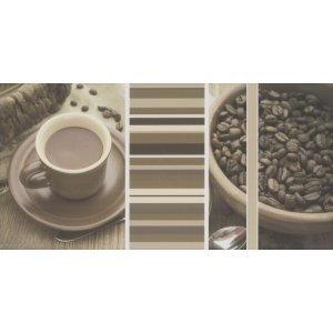 Paradyz Vivida 30x60 cm bianco I300X6001VIVIBICAA Obklad INSERTO cafe A