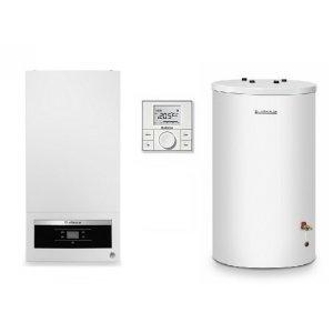 Buderus Systém BASIC Zostava kondenzačného kotla so zásobníkom a regulátorom rôzne prevedenia