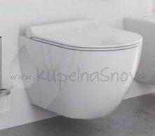 Ravak Uni Chrome WC keramika, biela X01516
