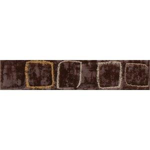 RAKO Concept lištela (Monopoli) hnedá 25x4, 5 WLAH5011