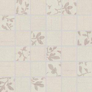RAKO Textile mozaika set 30x30 cm slonová kosť mix 5x5 WDM05101