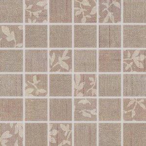 RAKO Textile mozaika set 30x30 cm hnedá mix 5x5 WDM05103