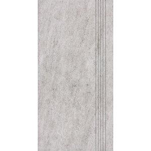 RAKO Pietra schodovka šedá 30x60 DCPSE631