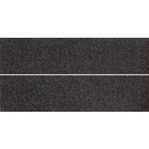 RAKO Unistone inzerto čierna 20x40 WIFMB613