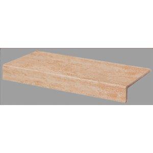 RAKO Travertin balkónová tvarovka okrová 30x15 DCFJH034