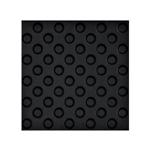 RAKO Taurus Industrial tvarovka pre nevidiacich čierna 30x30 TTS35019