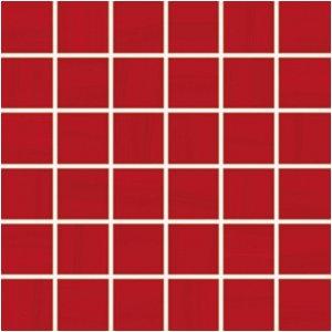 RAKO Air mozaika set 30x30 cm červená 5x5 WDM06041