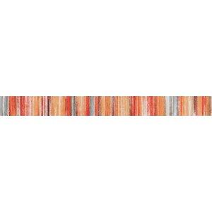 RAKO Tendence lištela ( Air ) červeno-oranžová 60x5,5 WLASZ004