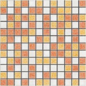 RAKO Samba mozaika set 30x30 cm viacfarebná 2,5x2,5 GDM02115