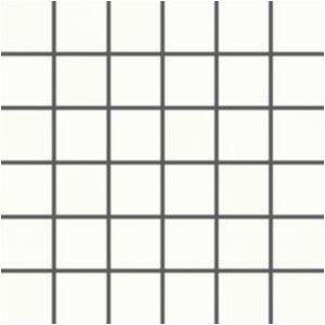 RAKO Tendence 5x5 cm biela pololesklý WDM06050 mozaika set 30x30 cm