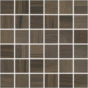 RAKO Board mozaika set 30x30 cm tmavá hnedá 5x5 DDM06144