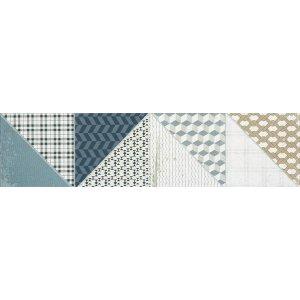 RAKO Deco dlaždica - kalibrovaná viacfarebná 15x60 DDPSU659
