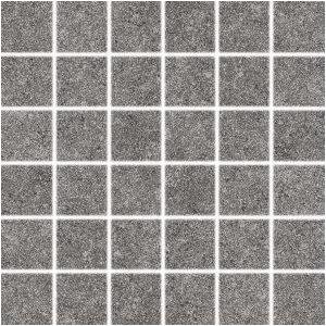 RAKO Unicolor mozaika set 30x30 cm ( Rock ) tmavá sivá 5x5 DDM06636