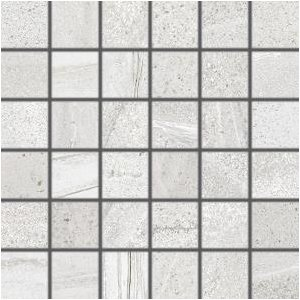 RAKO Random mozaika set 30x30 cm svetlá sivá 5x5 DDM06678