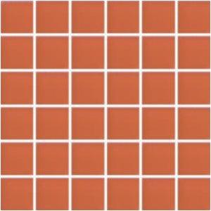 RAKO Sandstone Plus mozaika set 30x30 cm - sklo oranžová - sklo 5x5 VDM05048